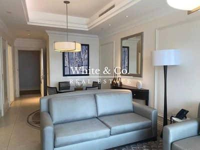 شقة 1 غرفة نوم للايجار في وسط مدينة دبي، دبي - Pool View / Burj View / Vacant