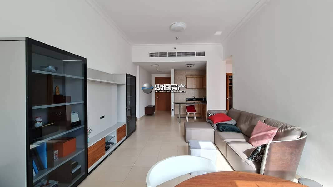 2 Beautiful 1 BR  furnished   Vacant on transfer