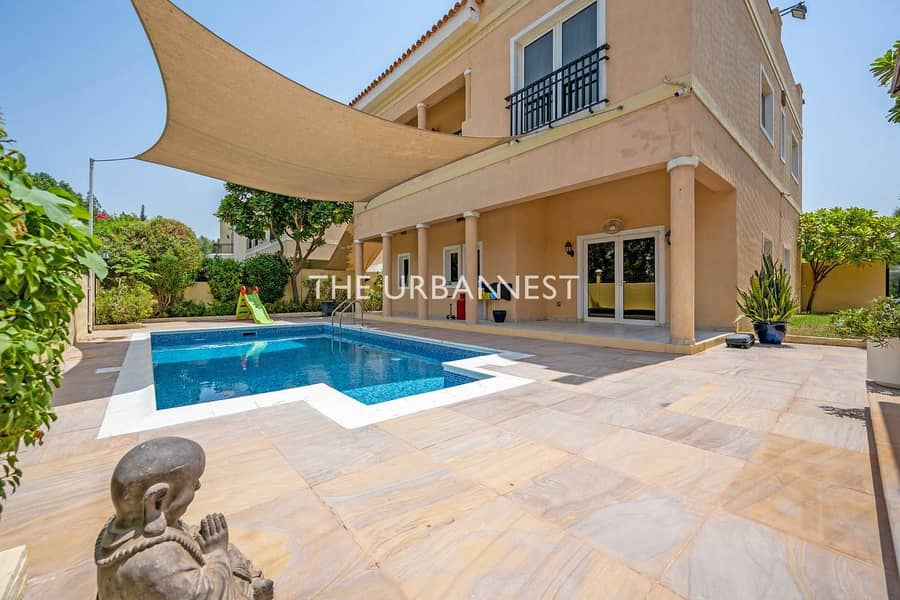 Modern and Bright   5 Bed with Pool   Mazaya A1