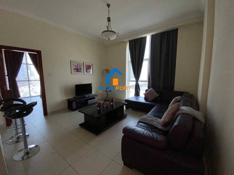 HURRY UP FULLY FURNISHED 1BHK IN SCALA TOWER