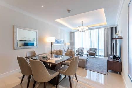 شقة 2 غرفة نوم للايجار في وسط مدينة دبي، دبي - Furnished Apt w/ Burj and Fountain View