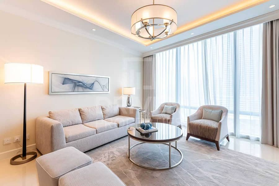 2 Furnished Apt w/ Burj and Fountain View