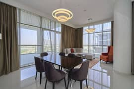 Vacant, Brand New, Furnished, Full Golf View