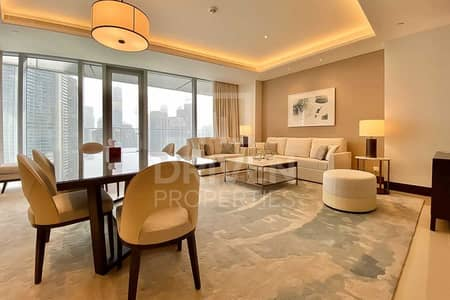 شقة 2 غرفة نوم للبيع في وسط مدينة دبي، دبي - Fully Furnished Apt | Burj Khalifa View