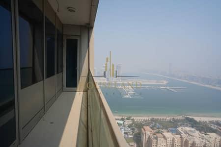 شقة 2 غرفة نوم للايجار في دبي مارينا، دبي - شقة في أوشن هايتس دبي مارينا 2 غرف 85000 درهم - 5352226