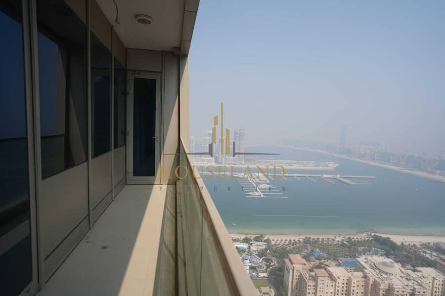 شقة في أوشن هايتس دبي مارينا 2 غرف 85000 درهم - 5352226