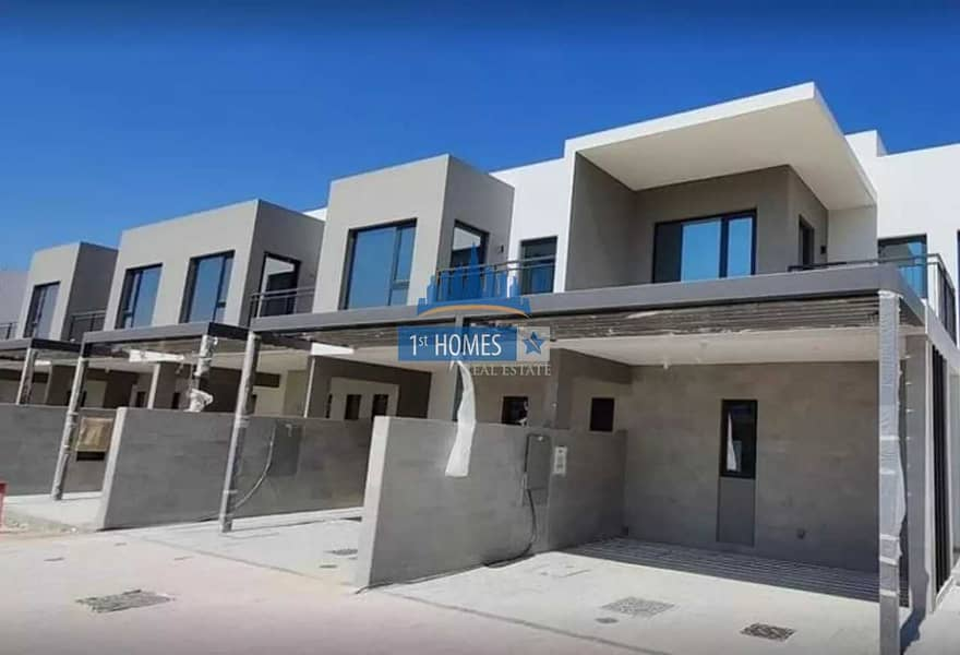 2 Ready to Transfer  4BHK+Maid Townhouse with Three years Payment Plan