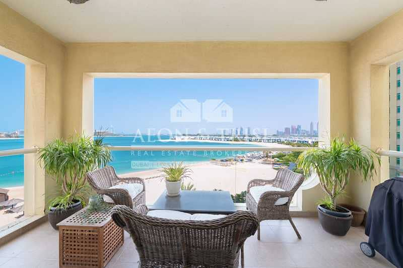 Unfurnished 2 Bed I Full Sea View I Great Location