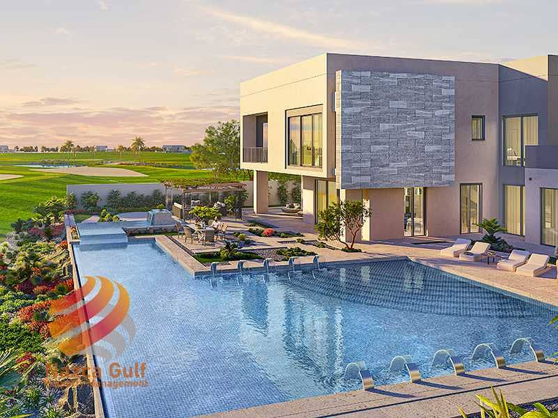 Golf Front Row  Villa with Luxury Lifestyle