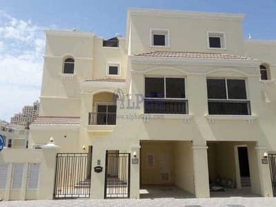 فیلا 4 غرف نوم للايجار في قرية الحمراء، رأس الخيمة - Beautiful Pool View! Unfurnished Villa in Al Hamra