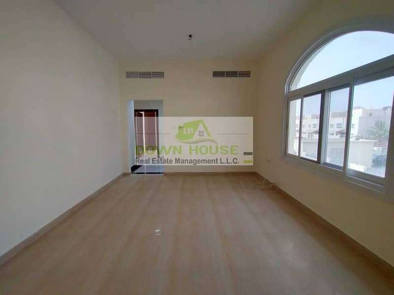 Spacious 1 Bedroom W/ Shared Pool in Khalifa City A