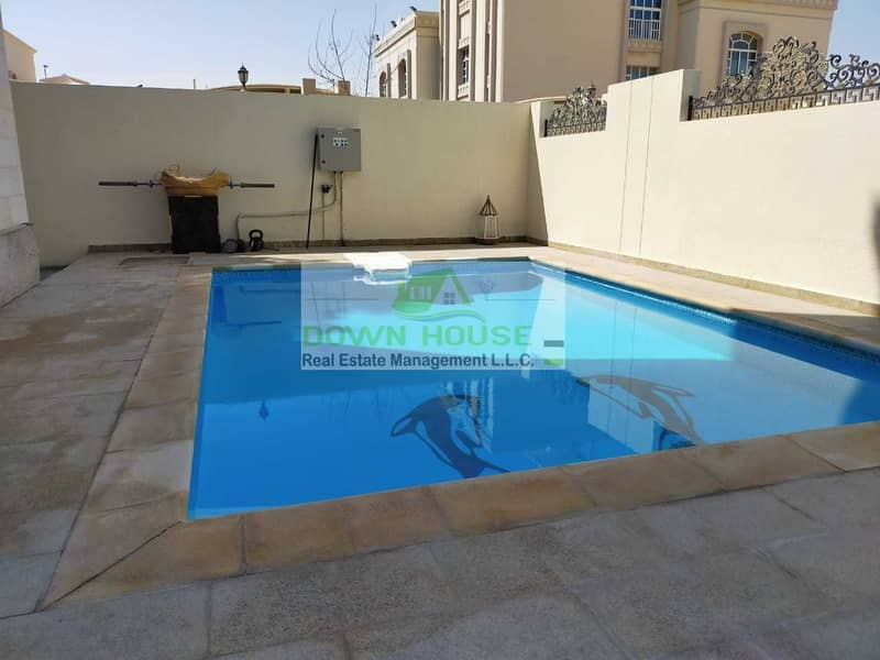 14 Spacious 1 Bedroom W/ Shared Pool in Khalifa City A