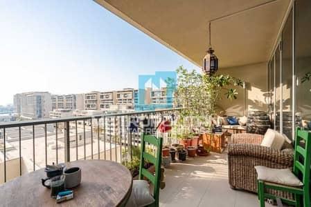 3 Bedroom Flat for Sale in Al Raha Beach, Abu Dhabi - Stunning Sea View| Big Layout| Balcony| Maids Room