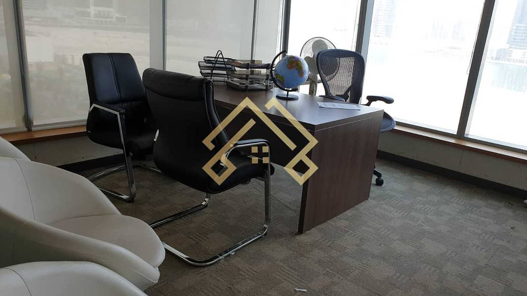 FULLY FURNISHED OFFICE FOR RENT | BUSINESS BAY