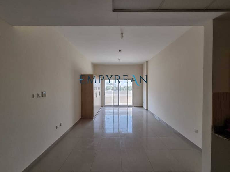LARGE STUDIO AVAILABLE WITH BALCONY PARKING SPACE  POOL AND GYM AVAILABE