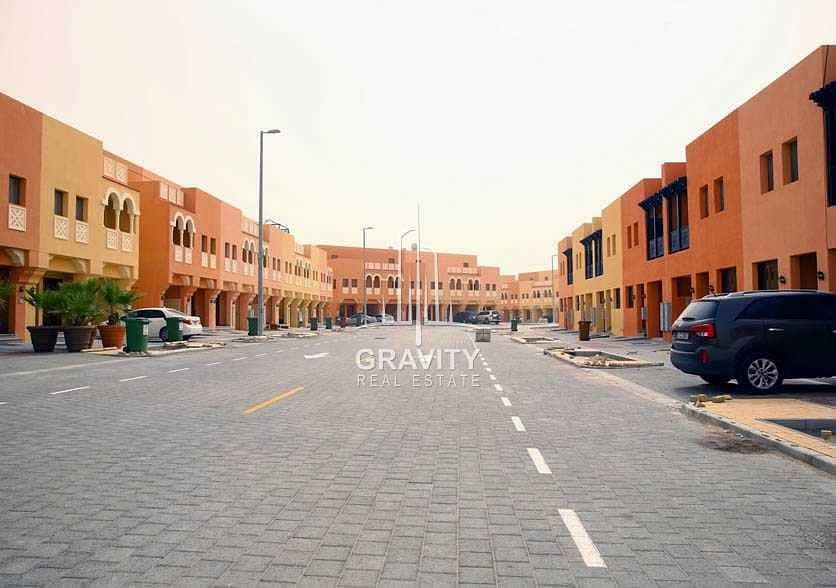 2 Not Crowded Area Three Bedroom Villa in Abu Dhabi
