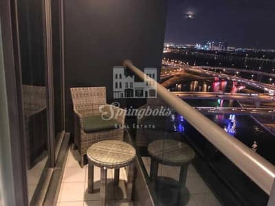 Studio for Sale in Business Bay, Dubai - Amazing Full Canal View | Studio with Balcony