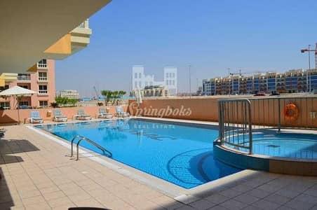 فلیٹ 1 غرفة نوم للايجار في قرية جميرا الدائرية، دبي - شقة في حدائق الإمارات قرية جميرا الدائرية 1 غرف 38900 درهم - 5205947