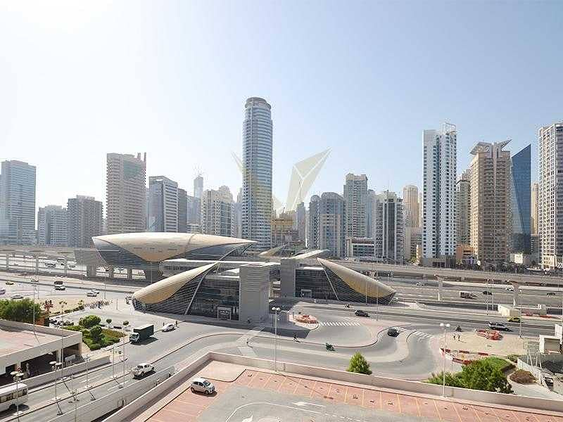 Next to Metro Station   Vacant 1BR   JLT
