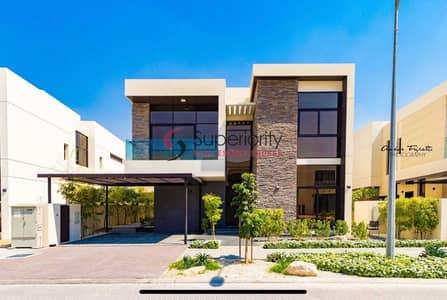 5 Bedroom Townhouse for Sale in DAMAC Hills (Akoya by DAMAC), Dubai - Type 3 - V2   Fendi Style   Damac Hills Veneto