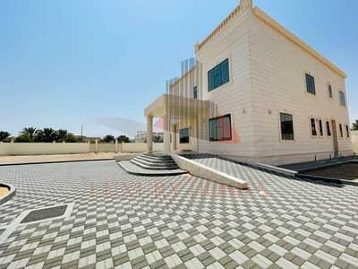 6 Bedroom Villa for Rent in Gafat Al Nayyar, Al Ain - Brand New Huge Villa with Yard Separate Entrance Majlis Outside