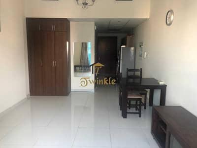 استوديو  للايجار في مدينة دبي الرياضية، دبي - One Month free | F/F Studio With Balcony in Elite 4