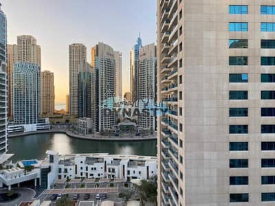 2 Bedroom Apartment for Rent in Dubai Marina, Dubai - Upgraded    Full Marina View   2 BR    Chiller free