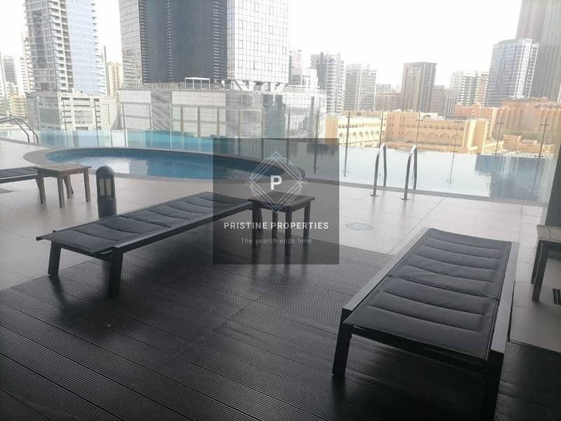 2 Spacious Apartment with Balcony  Sea View  Main Corniche