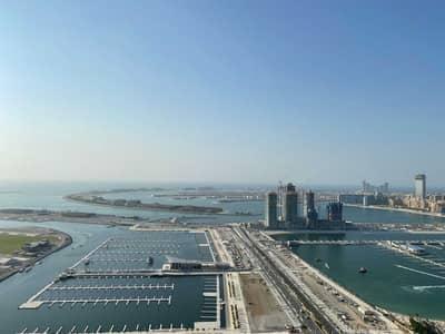 3 Bedroom Flat for Sale in Dubai Marina, Dubai - Full Floor  Sea  View Palm Dubai Eye View