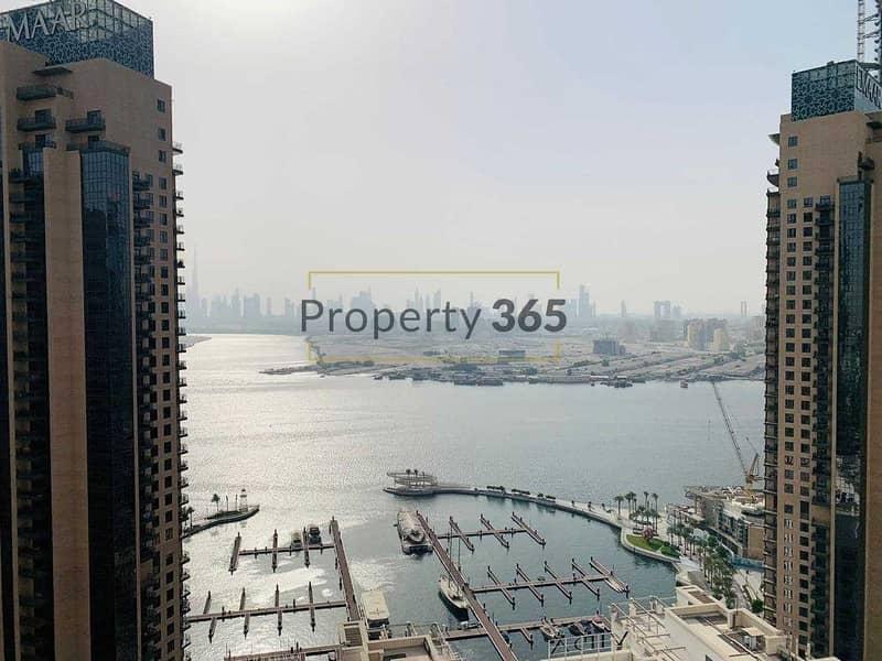 شقة في هاربور فيوز 1 هاربور فيوز مرسى خور دبي ذا لاجونز 3 غرف 2600000 درهم - 5354603