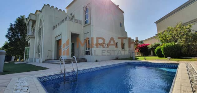 4 Bedroom Villa for Rent in Jumeirah Islands, Dubai - HOT DEAL |LAKE VIEW 4BED + STUDY  VILLA WITH POOL |