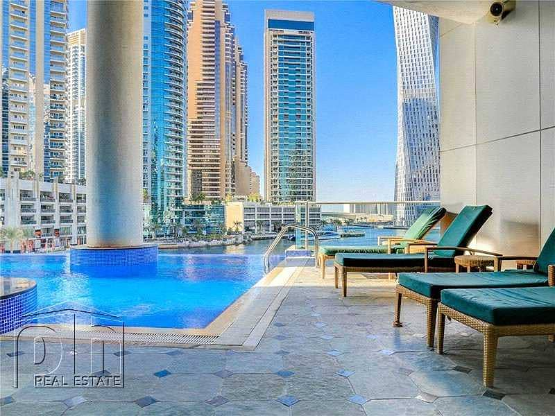 15 2 Bed + Maids | Amazing Location | Marina Views |