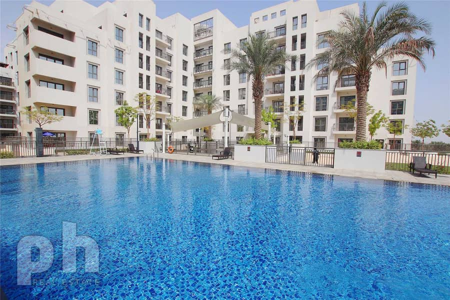 11 Pool Views | Landscaped Garden | 2 Bed