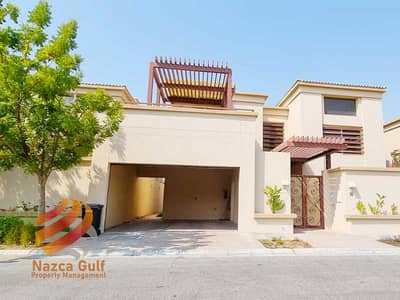 5 Bedroom Villa for Rent in Khalifa City A, Abu Dhabi - Elegant 4 BR Villa with Private Pool