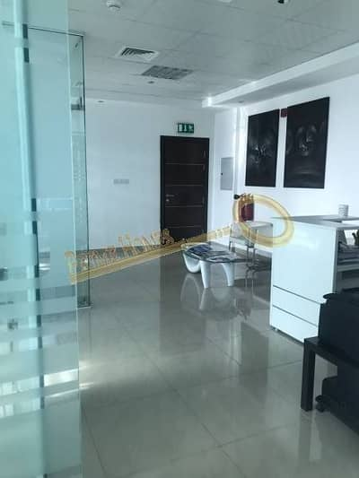 Spacious Semi Fitted Office with Balcony