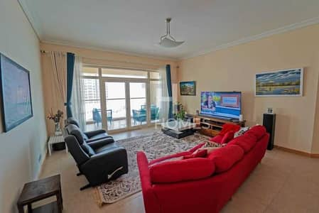 2 Bedroom Flat for Rent in Palm Jumeirah, Dubai - Exclusive | Full Sea Views | Unfurnished