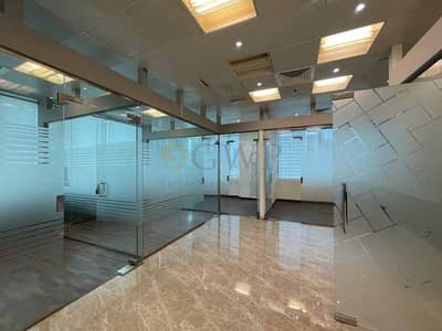 مکتب  للايجار في الخليج التجاري، دبي - Fitted Office with 4 Partitions in Business Bay . .