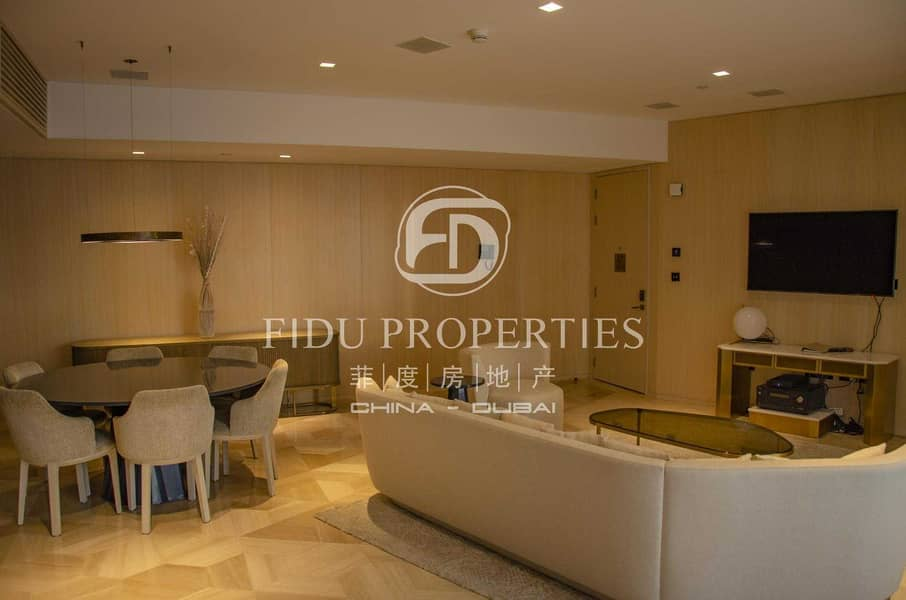 Fully Furnished l Amazing  View I High floor