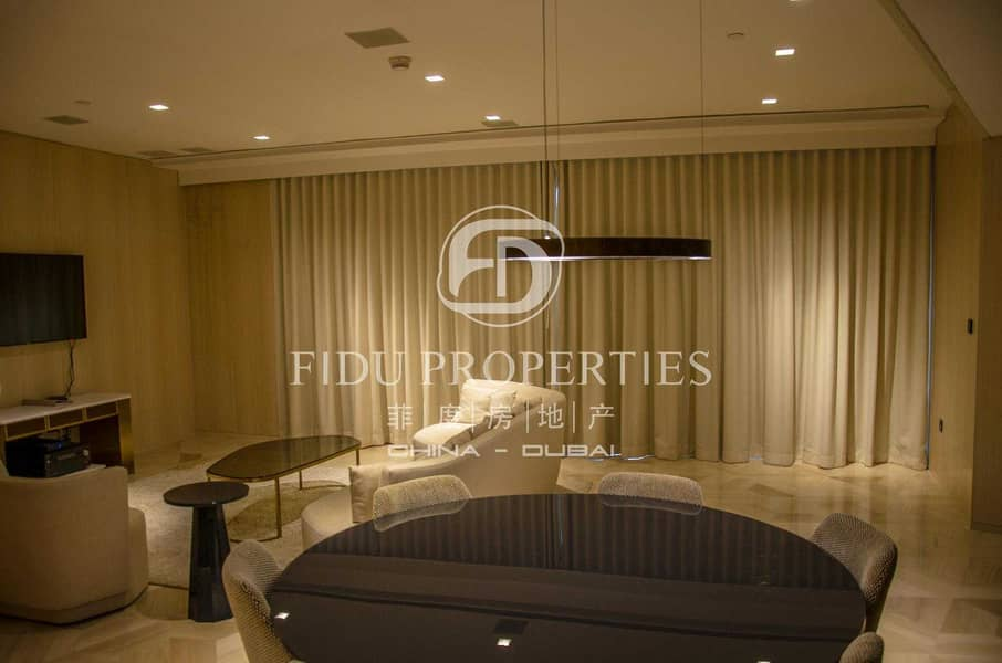 10 Fully Furnished l Amazing  View I High floor