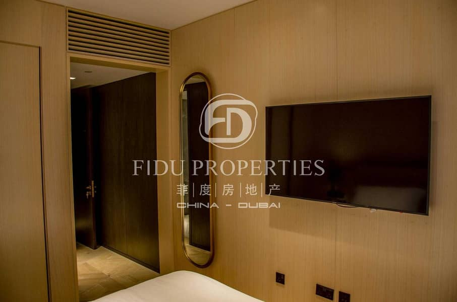 2 Fully Furnished l Amazing  View I High floor