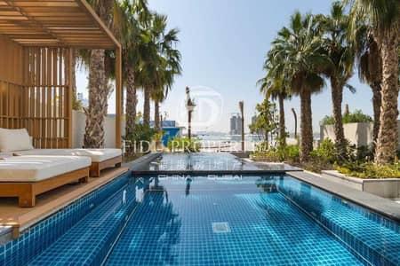 فیلا 3 غرف نوم للبيع في نخلة جميرا، دبي - Fully Furnished 3BR plus Maid Room in Five