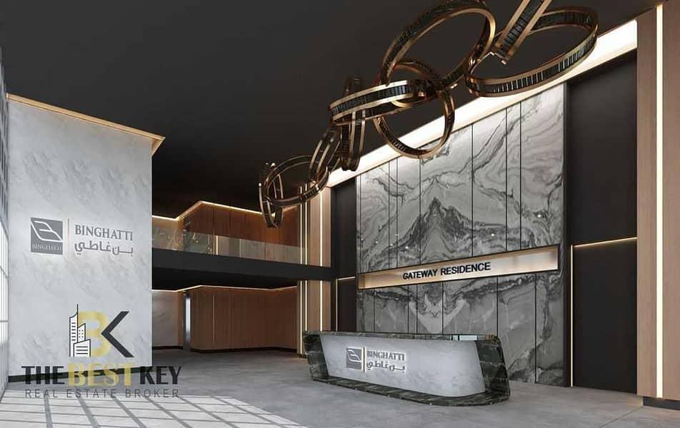شقة في Binghatti Gateway بن غاطي جيت واي 1 غرف 560000 درهم - 5355082