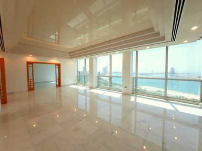 شقة 4 غرف نوم للايجار في الحصن، أبوظبي - شقة في برج بينونة 1 الحصن 4 غرف 185000 درهم - 5355076
