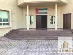 For rent a ground floor villa in Sharjah, Al Qarayen 4, a great location