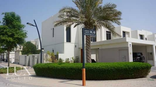 فیلا 4 غرف نوم للبيع في تاون سكوير، دبي - Corner Unit   Park View   Vacant   4 Bed
