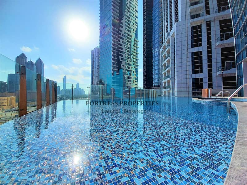 Ultra-Modern 2BR + Maids Apartment    Balcony & AMENITIES !!