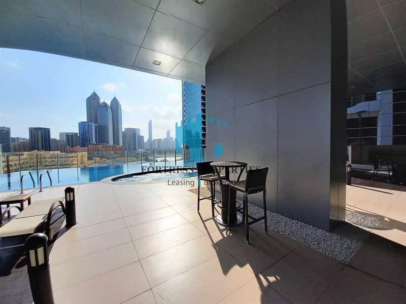 2 Ultra-Modern 2BR + Maids Apartment    Balcony & AMENITIES !!