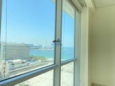 3 Bedroom Flat for Rent in Jumeirah Beach Residence (JBR), Dubai - 3 Plus Maid With Sea view  Chiller and Gas included