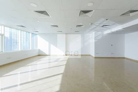 Office for Rent in Jumeirah Lake Towers (JLT), Dubai - Fitted Office | High Floor | Ready to Move In