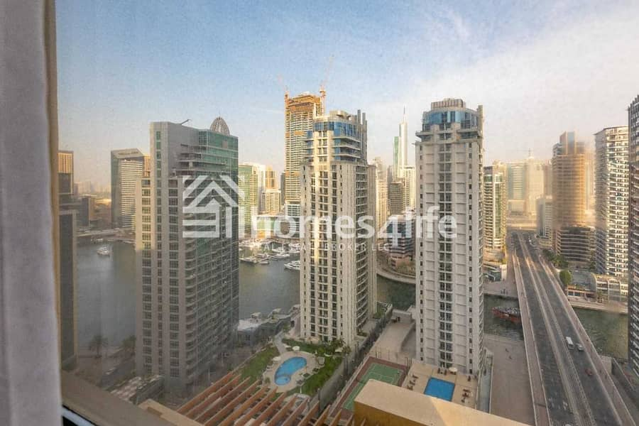Furnished 2BR l Marina View l Large Layout